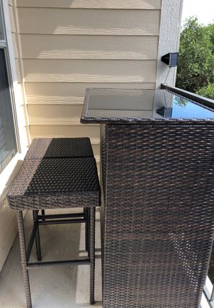 Outdoor Furniture Bar Top for Sale in Austin, TX