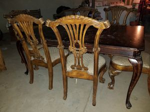 Kitchen table 6 chairs included for Sale in Phoenix, AZ