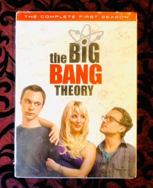 NEW the BiG BANG THEORY TV Series The Complete First Season Sealed!! for Sale in Orlando, FL