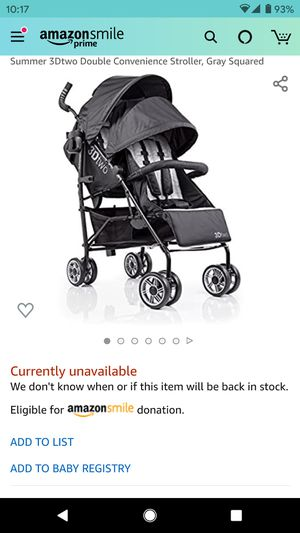 Double Stroller for Sale in Brentwood, PA