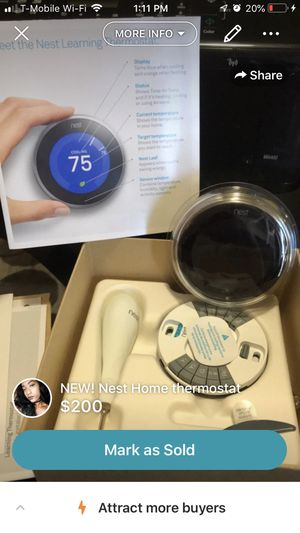 New! Nest Home Thermostat for Sale in Camp Springs, MD