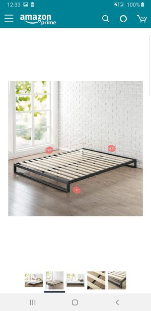 Queen size 7 in platform bed frame.. BRAND NEW..can deliver for Sale in Euclid, OH