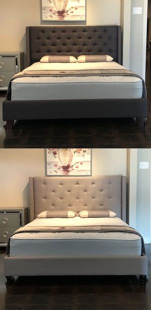 Queen Size Beds with Mattress And Free Delivery for Sale in Arlington, TX