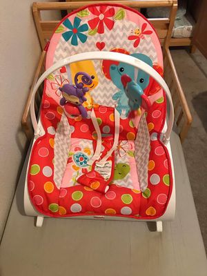 Stroller + carseat + base (Graco) $45 fisher price infant to toddler $15 Great conditions! for Sale in East Wenatchee, WA