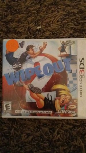 ABC WIPEOUT (Nintendo 3DS) for Sale in Lewisville, TX
