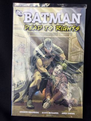 Batman dead to rights book for Sale in Downey, CA