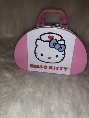 RARE Hello kitty first Aid Kit in tin for Sale in Poinciana, FL