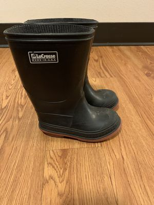 La crosse rain boots size 7 for Sale in Seattle, WA