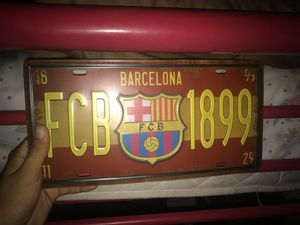 FC Barcelona license plate for Sale in Miami, FL