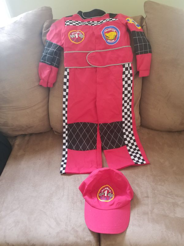 Kids Halloween Costumes 2-4 Mario/Fire Fighter/ Racer Nice!!!$15 each.