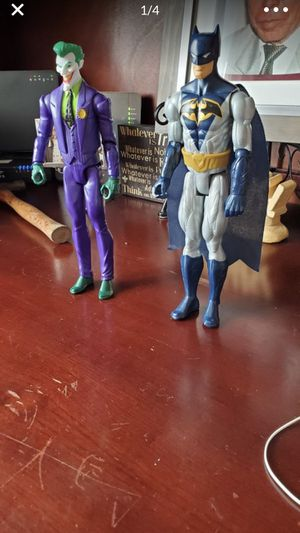 Dc comic joker and batman. 12 inch for Sale in Rancho Cucamonga, CA