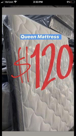 BRAND NEW PILLOW TOP MATTRESSES💯 Queen $120 ❌ $180 With Box Spring FULL SIZE $100 ❌ $150 With Box Spring Twin $80 ❌ $120 With Box Spring for Sale in Baldwin Park, CA