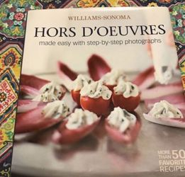 Williams Sonoma Hors D'Oeuvres Cookbook for Sale in Arlington,  VA