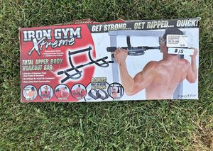 Iron Gym Xtreme - Upper Body Workout / Pull-Up Bar for Sale in Stamford, CT