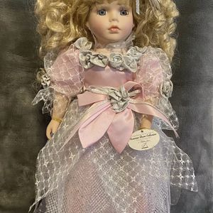 "Adorable 16"" Porcelain Doll By Melissa Jane for Sale in Columbia, SC"