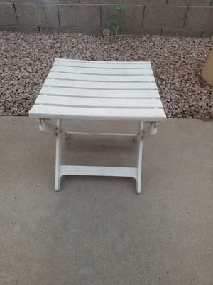 Adjustable Height Ottoman / Side Table for Sale in Mesa, AZ