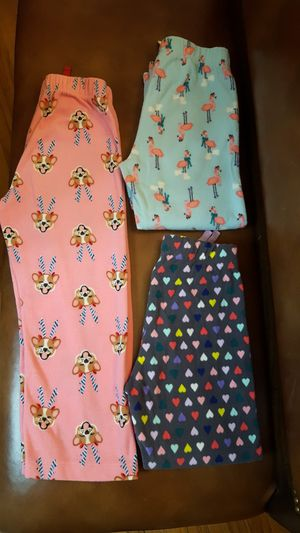 Lot of 3 Old Navy Pajama Pants for Sale in Dallas, TX