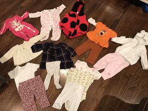 0-6 months baby girl winter holidays clothes for Sale in Burke, VA