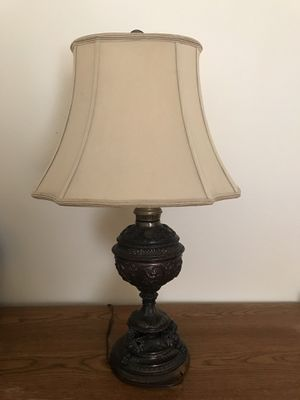 "Antique/ Vintage bronze lamp 30"" for Sale in Vancouver, WA"
