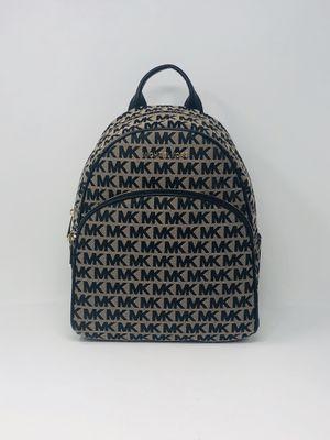 Michael Kors Medium Backpack New w/ Tags Black and Beige for Sale in Elkridge, MD