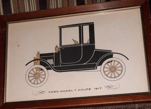 Antique Cars Framed Art for Sale in Damascus, MD