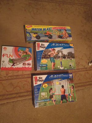 Outdoor summer water toys for Sale in Sterling, VA