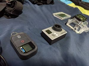 Gopro hero 3, wifi remote, accessories and mounts for Sale in Queens, NY