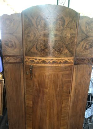 Antique Art Deco armoire small for Sale in Fresno, CA