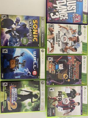 XBOX 360 games , asking for 60 for all the games , willing to negotiate :) for Sale in Gilbert, AZ