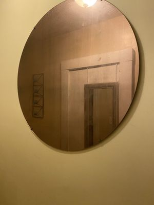 Wall table with mirror for Sale in Springfield, MA