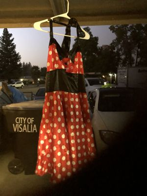 Minnie Mouse costume dress size xl for Sale in Visalia, CA