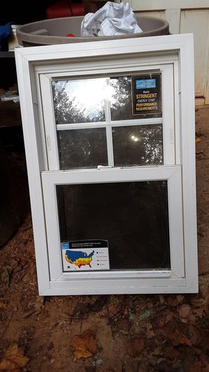 Window, screen door, ladder,trash can for Sale in Raleigh, NC