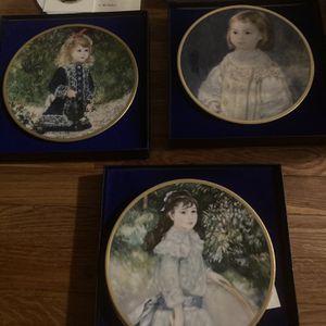 Children Of Renoir Collector Plates for Sale in Woodbridge Township, NJ