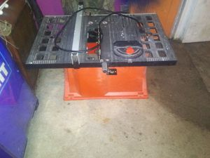 Ridged table saw for Sale in Blue Springs, MO