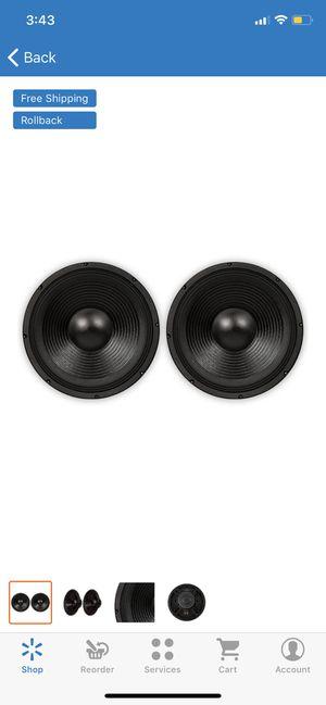 "Podium Pro PP152 Deluxe 15"" Pro Audio 1400W DJ, PA, Karaoke, Band Replacement Subwoofer, Pair for Sale in Phoenix, AZ"