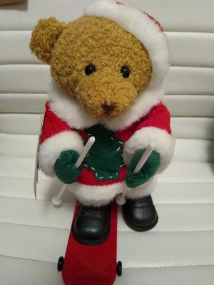 Teddy Bear Santa Sledding with Music for Sale in Seattle, WA