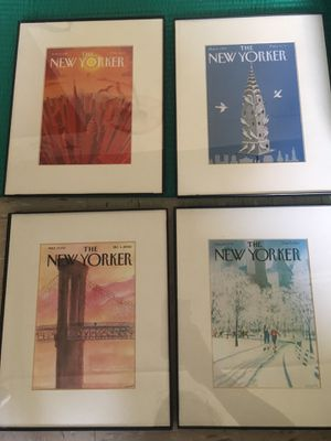 New yorker 6 frames set for Sale for sale  Brooklyn, NY