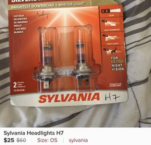 Sylvania H7 headlights for Sale in St. Helena, CA