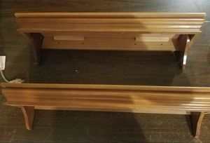 2 Wall hanging shelves for Sale in Austin, TX