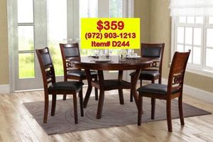 Dining table set with chairs brand new📦 fast delivery available🚚 for Sale in Dallas, TX