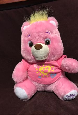 My Friend Teddy Bear PINK Plush Soft Interactive Talking English Spanish French for Sale in Killeen, TX