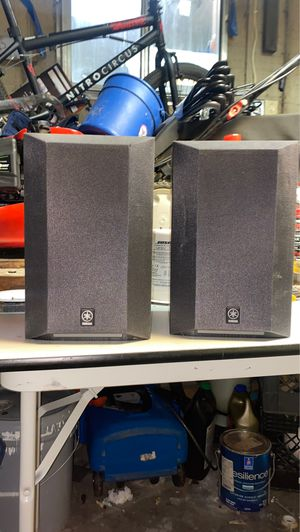 Yamaha speakers ns-am370sbl for Sale in Auburn, WA