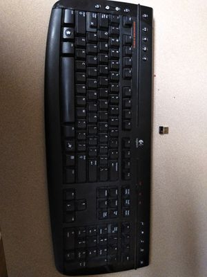 Logitech wireless keyboard for Sale in San Benito, TX