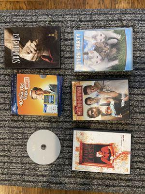 Random DVDs / Mean Girls, 40 yr old virgin, Schindler's list, hangover, kitten party, Blood Loss for Sale in Berkeley, CA