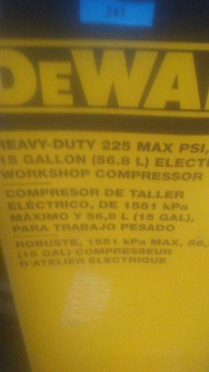 Dewalt air compressor for Sale in Enoree, SC