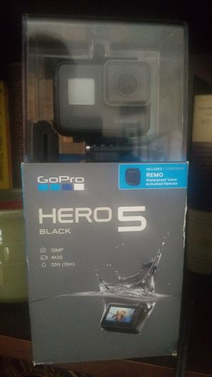 Gopro 5.4k with remote for Sale in Gaithersburg, MD