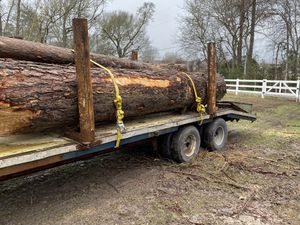 Log or pipe bolsters for goose neck for Sale in Dayton, TX