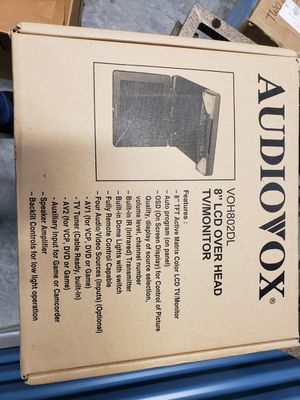 """Audiovox 8"""" LCD overhead TV/monitor for Sale in Port St. Lucie, FL"""