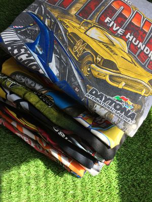Nascar Lot Bundle 20 Shirts Total EUC Various Sizes Numerous Drives Racecar Dale Jarrett Jeff Gordon AARP Daytona Speedway Ford Chevrolet womens for Sale in Duluth, GA