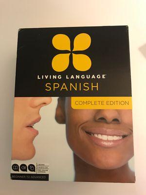 Rosetta Stone Spanish - essential through advanced for Sale in Arvada, CO